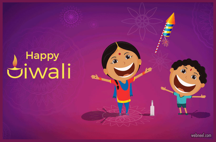 happy diwali greeting card by by shiva krishnae