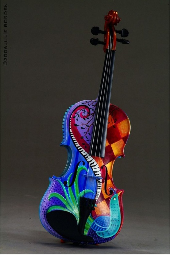 Beautiful Violin Photo creative art musical instrument