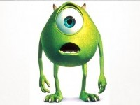 Mike - Wasowski  Monsters Inc - Best Animation Movie Character