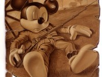 civil-war-mickey-mouse-painting by tim-obrien