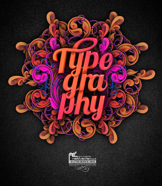 Graphic Design Inspiration: 35 Creative Typography Design Master Pieces For Your