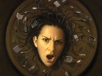 medusa-of-technology-painting by tim-obrien