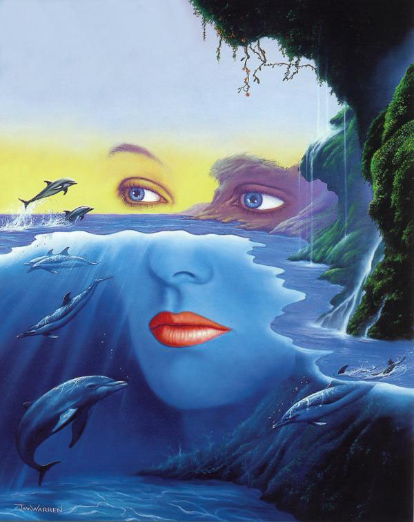 surreal painting by jim warren%20(13) 25 Mind Blowing and Surreal Paintings by Jim Warren   Master of Imagination