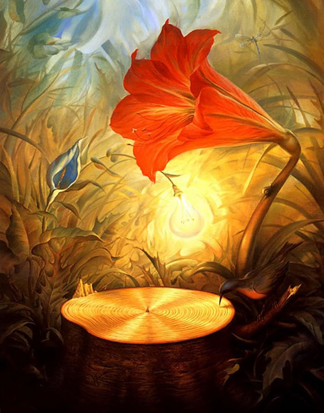 Picture-1 ( 35 Surreal and Creative Oil Paintings by Artist Vladimir Kush )