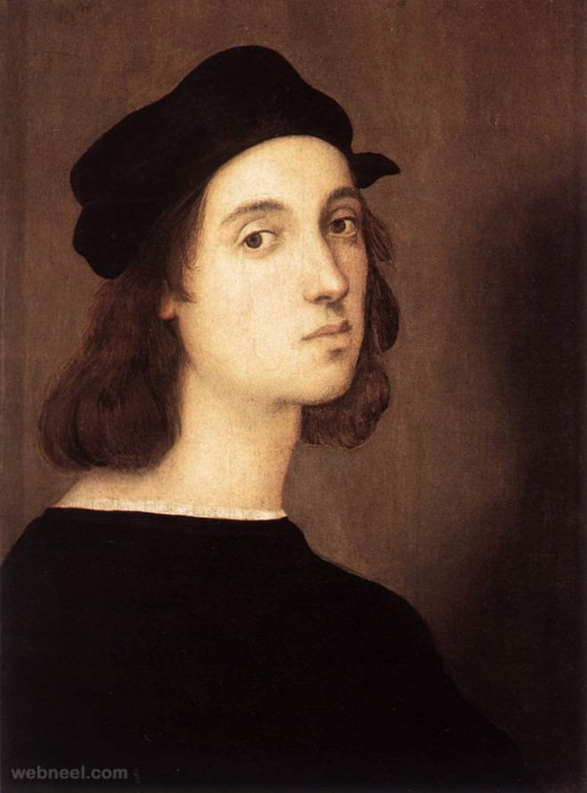 raphael self portrait paintings