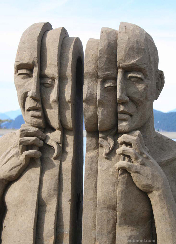 sand sculpture by carl