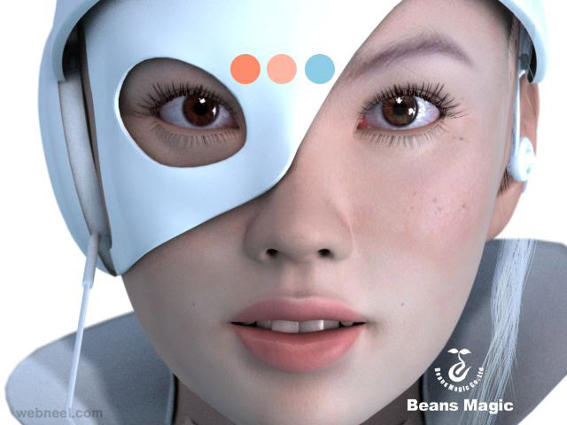 Realistic Character Modeling Blender : Best and creative blender models for your inspiration