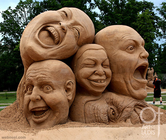 sand sculpture uldis