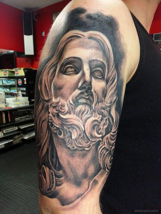 Jesus Tattoo 23