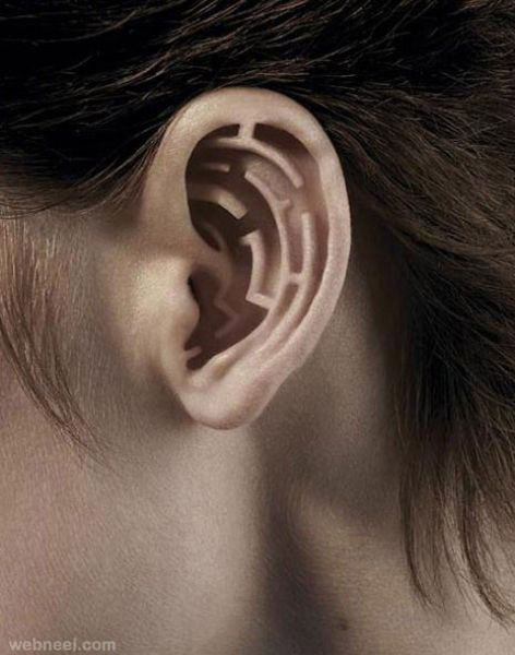 photo manipulation ear