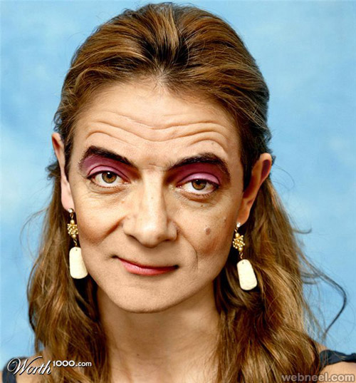 photo manipulation mr bean