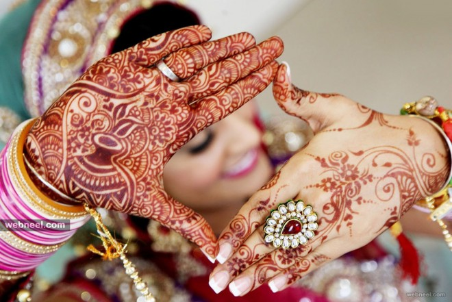 Image result for designer bridal mehandi photo