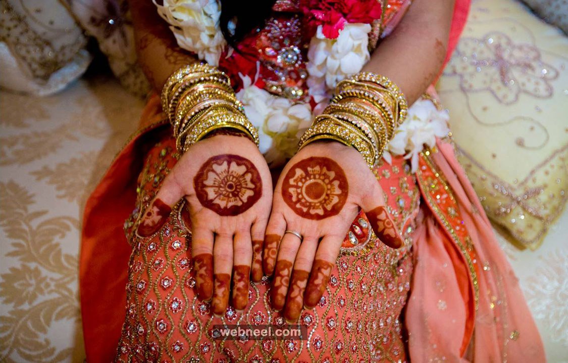 Easy Bridal Mehndi : Simple bridal mehndi designs