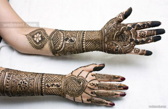 broda mehndi designs flower