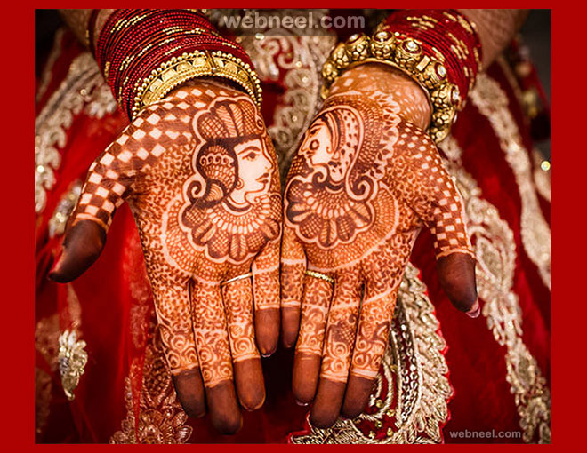 punjabi bridal mehndi designs