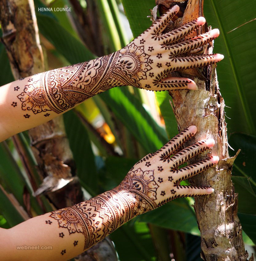 mehndi design idea full hand