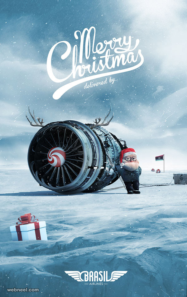 Car With Aeroplane Engine >> 30 Best Christmas Advertisements from Top Brand Ads around the world