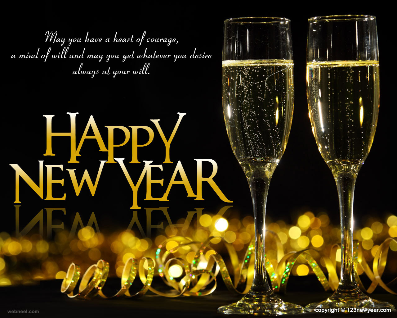 Happy new year wallpaper 18 full image happy new year wallpaper kristyandbryce Choice Image