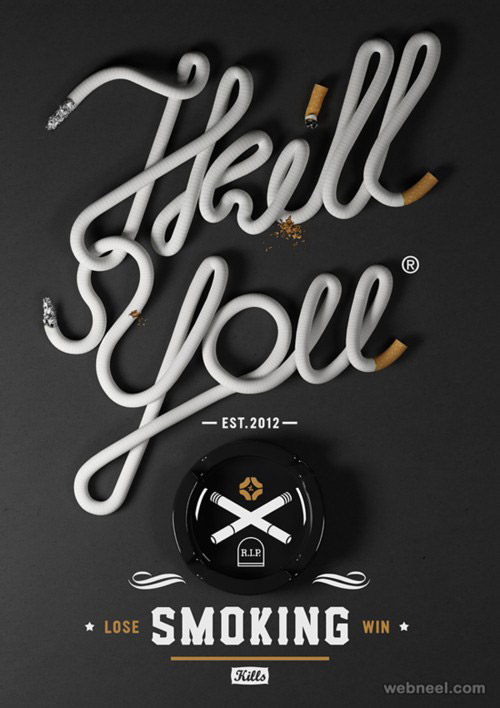 beautiful creative typography design