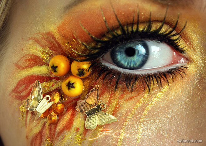 eye makeup painting