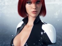 3D Female Character Design by Dmitry Cheremisin 2