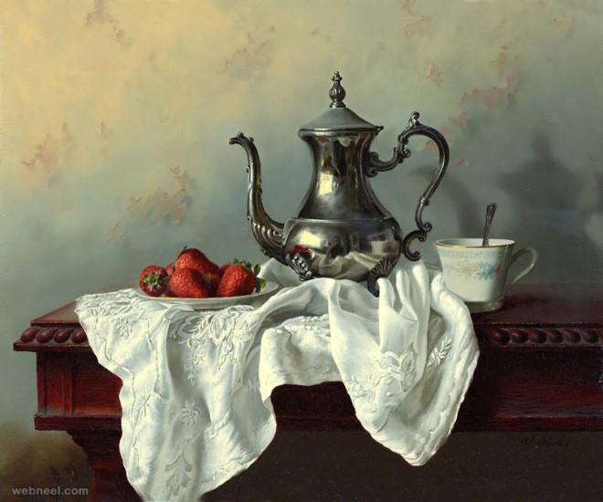 25 Hyper Realistic Still Life Oil Paintings by Alexei Antonov - By ...