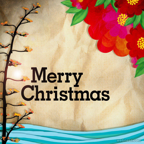 Magnificent 50 Best Christmas Greeting Card Designs For Your Inspiration Easy Diy Christmas Decorations Tissureus