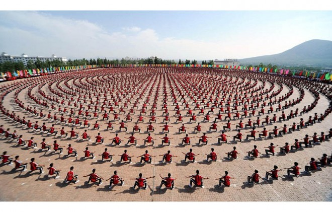 Kungfu Display Martial arts beautiful photo