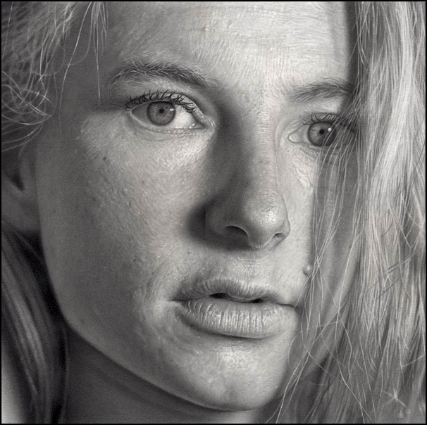 Beautiful pencil drawing 12