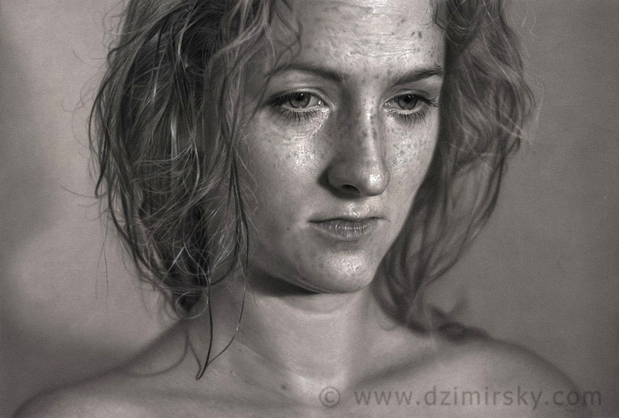 Drawing realistic pencil drawings
