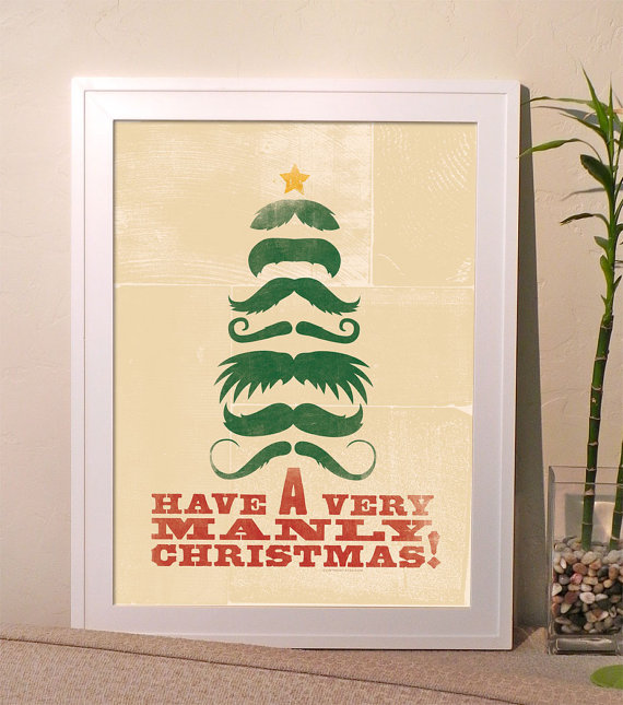 christmas typography