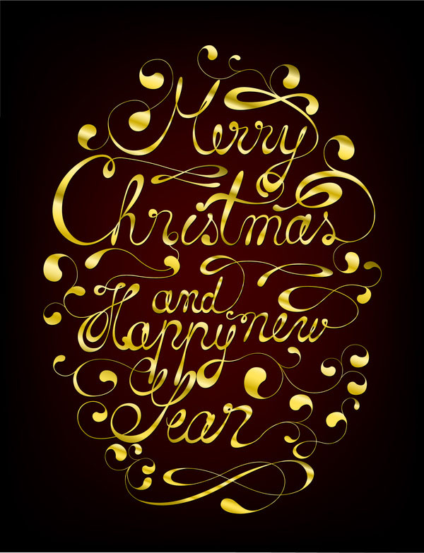 christmas typography (3)