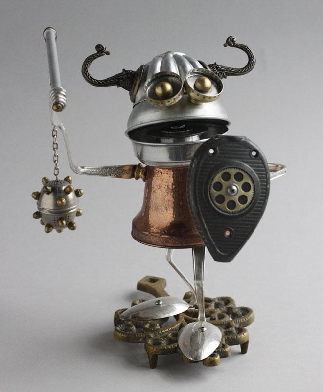 scrap material sculpture waste brain marshall creative best