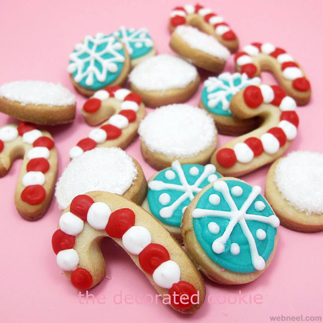 decorated holiday sugar cookies recipe dishmaps