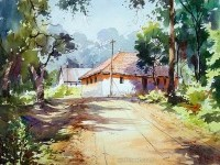 1-watercolor-painting-by-vilas kulkarn