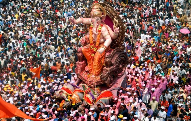 amazing india ganesh chathurthi