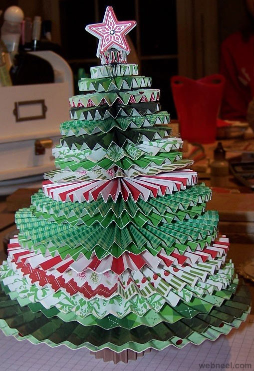 Christmas tree diy 12 Creative christmas trees to make
