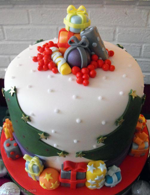 Cake Design Ideas For Christmas : 25 Beautiful Christmas Cake Decoration Ideas and design ...