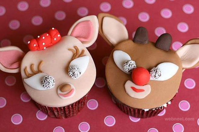 25 Beautiful Christmas Cupcake Decorating ideas for your ...