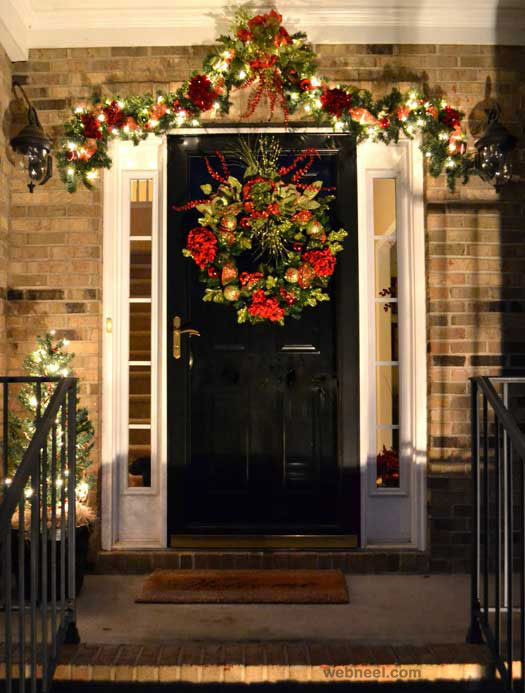 christmas door decorating ideas