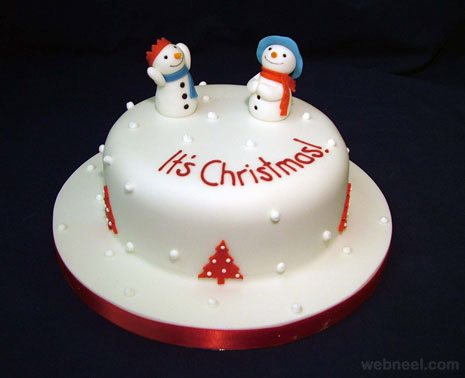 Simple Christmas Cake Design Ideas : 25 Beautiful Christmas Cake Decoration Ideas and design ...