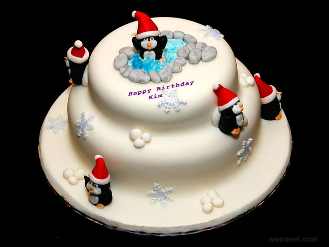 Christmas Cake Design Pictures : christmas cake design 16