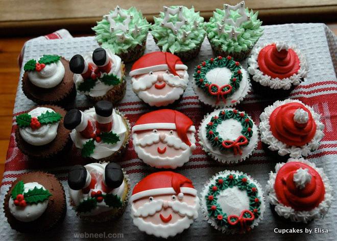 Christmas Cupcake Design : 25 Beautiful Christmas Cupcake Decorating ideas for your ...
