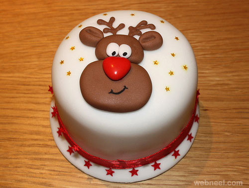 Cool Christmas Cake Decorations images