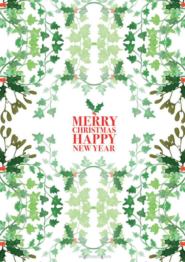 Cool 50 Best Christmas Greeting Card Designs For Your Inspiration Easy Diy Christmas Decorations Tissureus