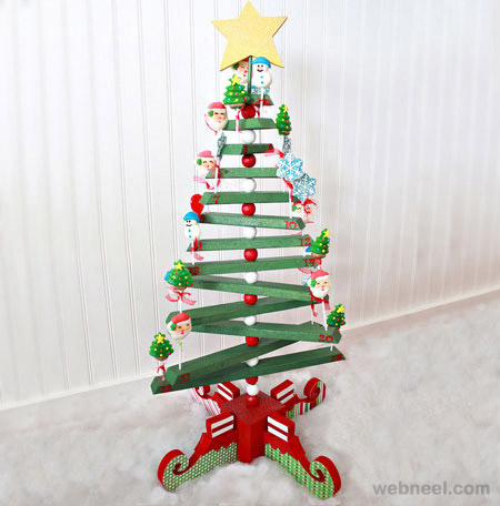25 beautiful christmas tree diy ideas for your inspiration for Arch decoration crossword clue