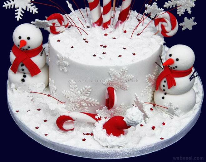 images of christmas cake - photo #12