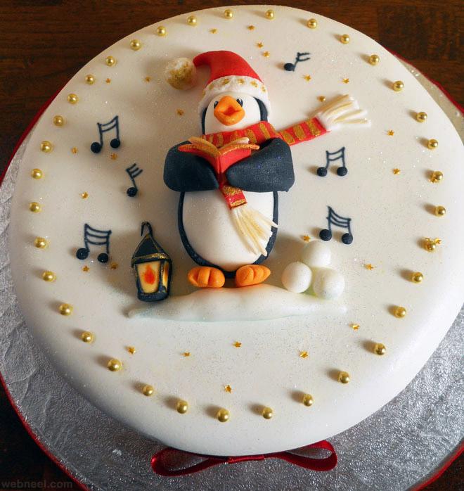 ... decoration idea christmas cake christmas cake ... & 25 Beautiful Christmas Cake Decoration Ideas and design examples