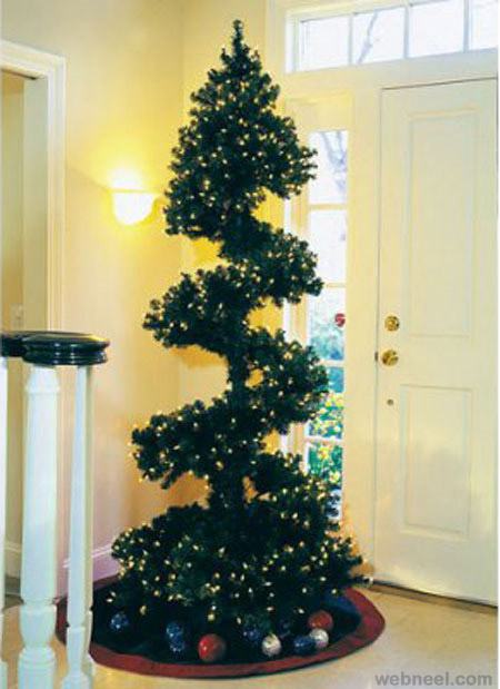 25 beautiful christmas tree diy ideas for your inspiration Creative christmas trees to make