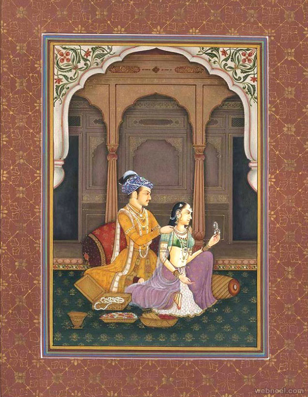 View all Mughal Painti...